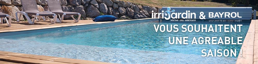 irrijardin bayrol remise en route piscine