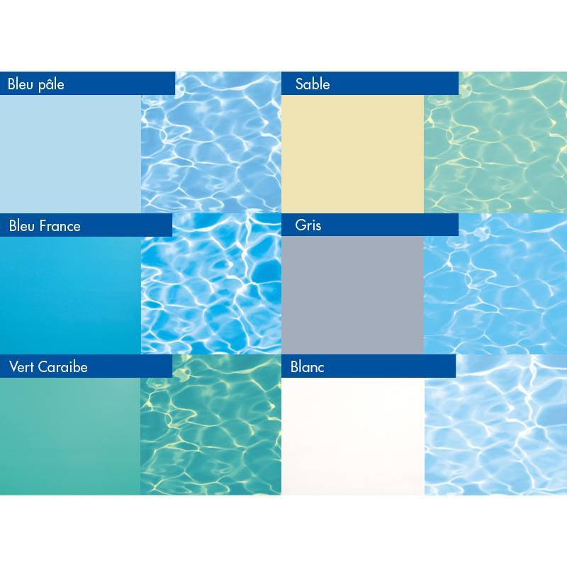 Kit piscine bloc polystyr ne 8x4m for Choisir couleur liner piscine