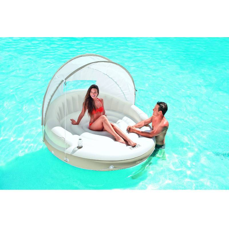 Gonflable détente Lounge Caraïbes Intex 85c7c3871a7f