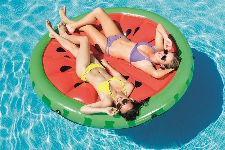 Matelas de piscine pastèque