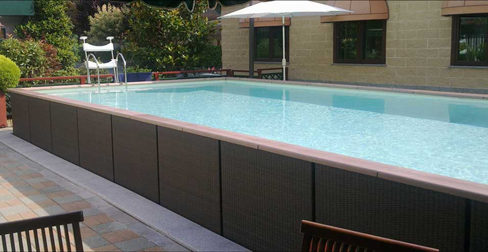 Laghetto dolce vita country une piscine hors sol haute for Piscine hors sol de qualite