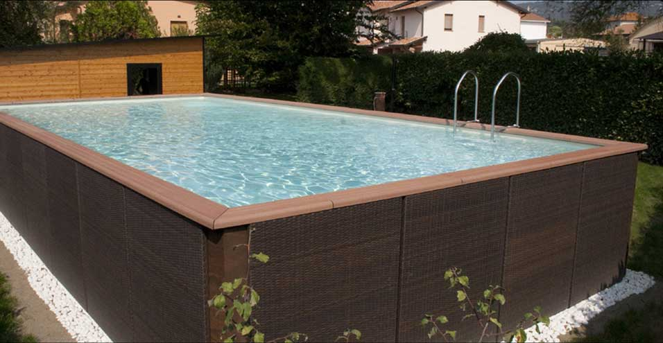 Belle piscine ronde hors sol for Belle piscine hors sol