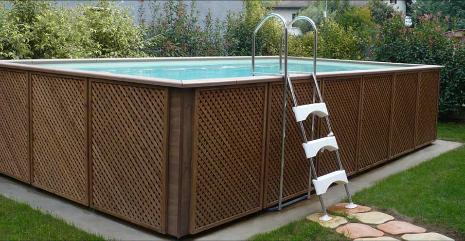 Deck pour piscine hors sol ct39 montrealeast for Piscine hors sol pas cher occasion