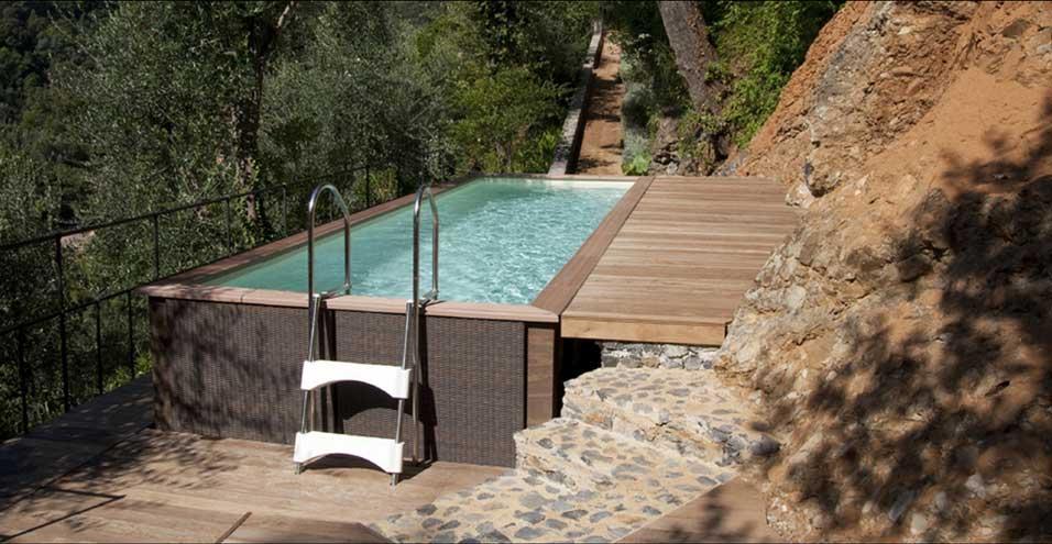 Laghetto dolce vita country une piscine hors sol haute for Piscine hors sol haute qualite