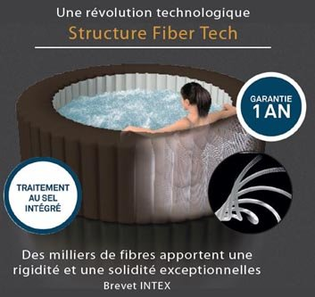 Purespa jets 4 places spa gonflable intex achat vente - Www intex service fr ...