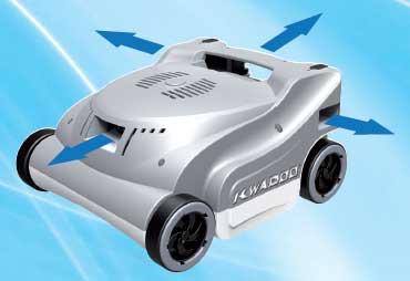 Kwadoo robot piscine lectrique prix achat vente chez for Robot piscine irrijardin