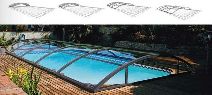 Abri de piscine motorisé pour plus de confort