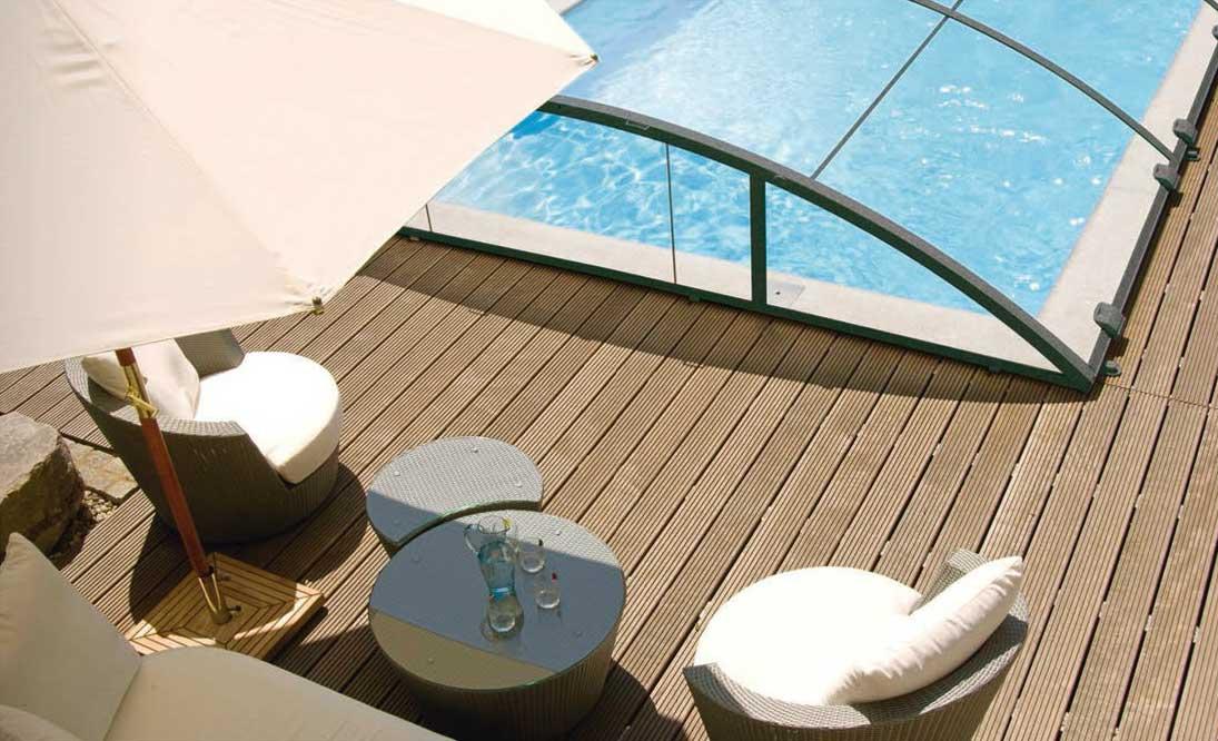 Abri de piscine Irrijardin
