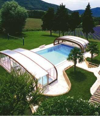 Abri haut t lescopique achat vente devis abri de piscine for Prix abri piscine haut telescopique