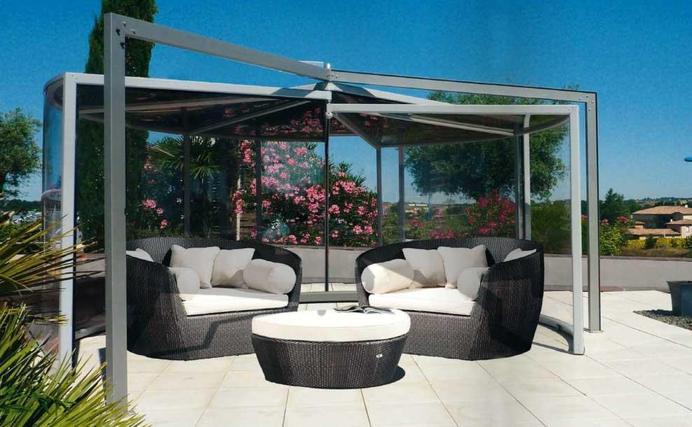abri barbecue. Black Bedroom Furniture Sets. Home Design Ideas