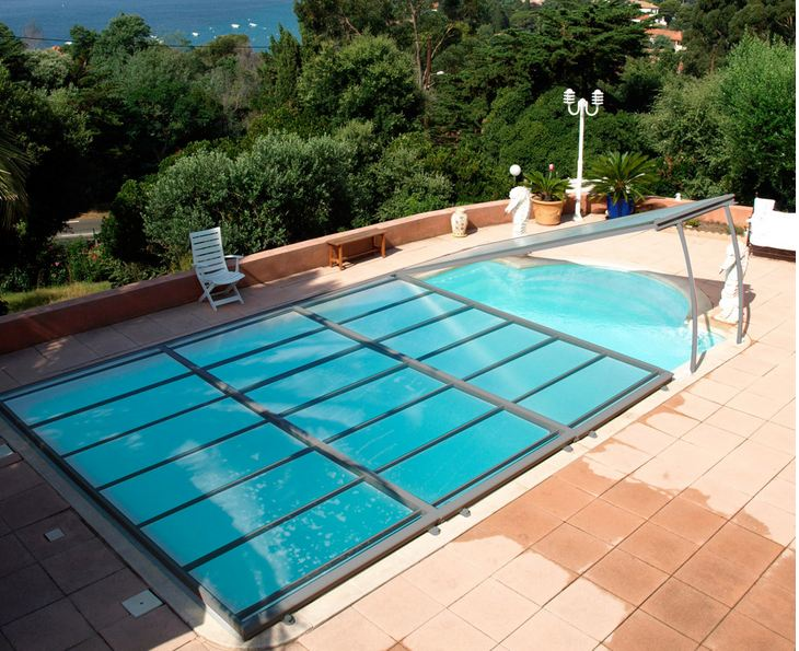 Vid o abri piscine plat motoris pictures to pin on pinterest for Abri piscine plat