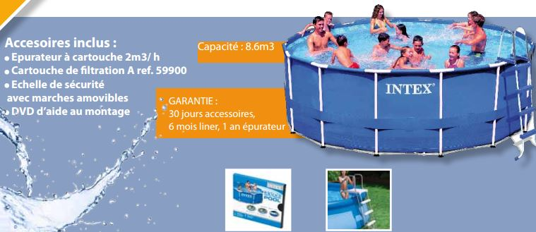 Montage piscine tubulaire ronde intex images for Montage piscine intex