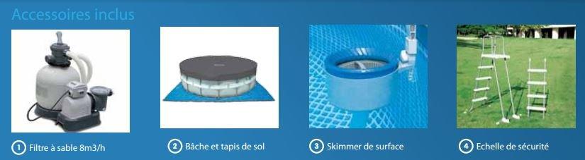 Ultra silver 975x488x132 piscine tubulaire intex achat - Www intex service fr ...