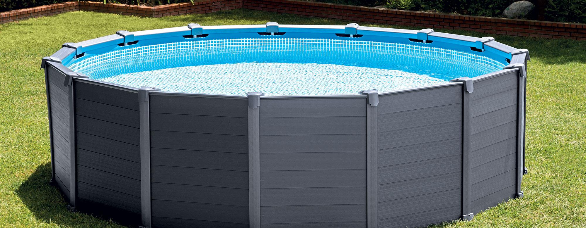 Piscine Tubulaire Habillage Bois maison maison design: piscine intex graphite habillage pvc