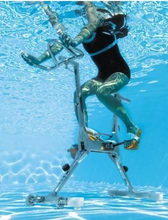 Aquabike pour piscine et spa