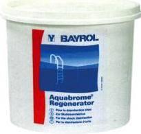 Aquabrome régénérateur de Bayrol