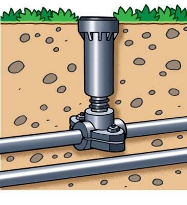 Arroseur et circuit irrigation intégré