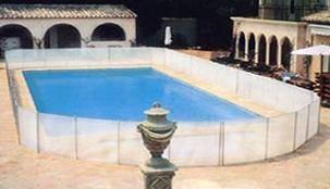 Barrière amovible de piscine