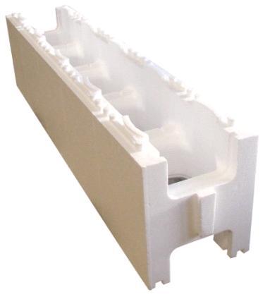 Bloc plolystyrène pour structure piscine