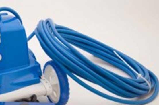 Câble électrique d'un robot de piscine