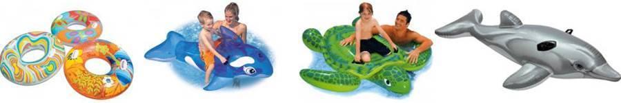 Gonflables chevauchables pour piscine