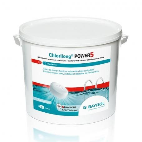 Chlorilong power 5 bloc BAYROL