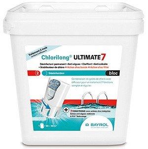 Chlorilong Ultimate 7 bloc BAYROL