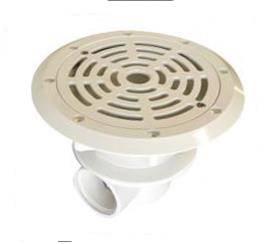 la bonde de fond ou latérale du circuit hydraulique piscine