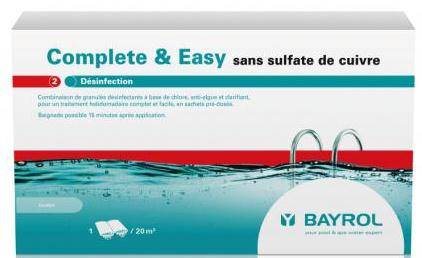 Traitement complet Soft&Easy Bayrol