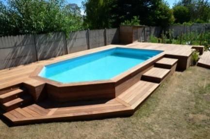 Deck de piscine