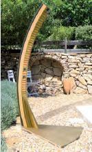 douche solaire piscine bois