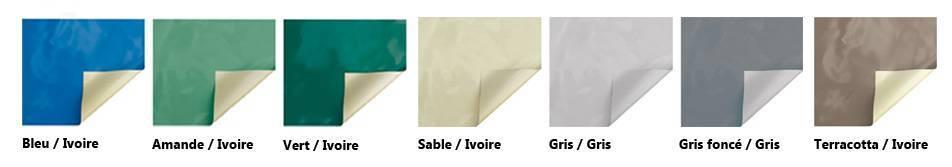 échantillon de bache à barres 4s cover edge irricover