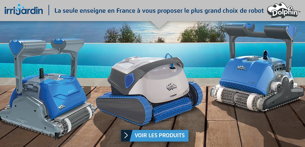 robot de piscine irrijardin vente de robot piscine. Black Bedroom Furniture Sets. Home Design Ideas