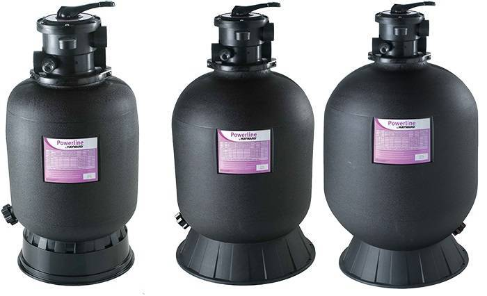 Powerline d 39 hayward filtre a sable piscine achat prix for Sable filtration piscine