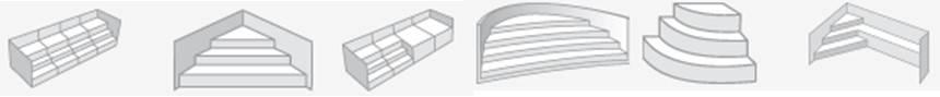 Les différents formats d'escalier piscine