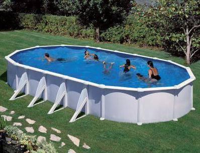 Piscine hors sol pas cher achat vente sur irrijardin for Petite piscine tubulaire rectangulaire