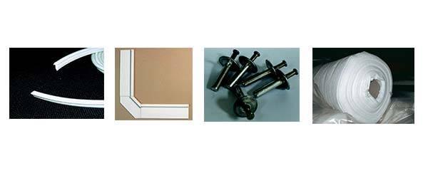 accessoires pour poser le liner structure résine
