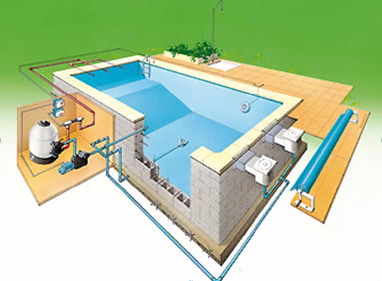 Pompe piscine irrijardin vente de pompe pour piscine for Piscine a debordement technique