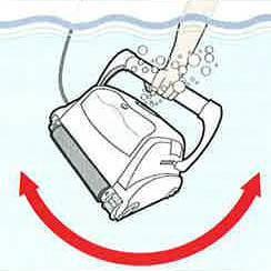 Mise en eau du robot électrique TOP ACCESS