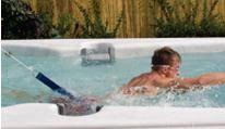 Nage à contre courant spa de nage