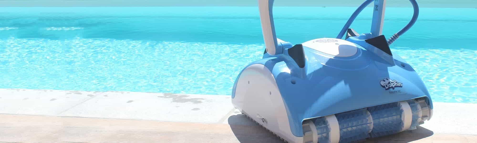 robot de piscine lectrique nauty tc dolphin. Black Bedroom Furniture Sets. Home Design Ideas