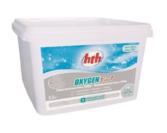 Oxygen 3 en 1 HTH