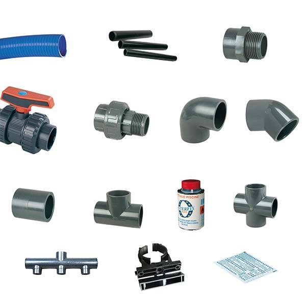 Kit hydraulique structure résine