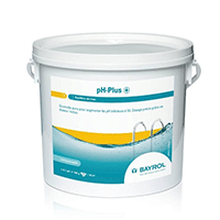pH-Plus de Bayrol pour monter de taux de pH de votre piscine.