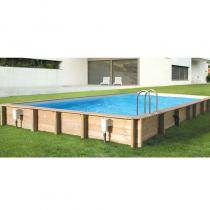 piscine bois hors sol et enterrable achat vente chez irrijardin. Black Bedroom Furniture Sets. Home Design Ideas