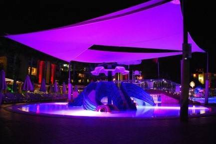 Eclairage piscine enterrée extérieure