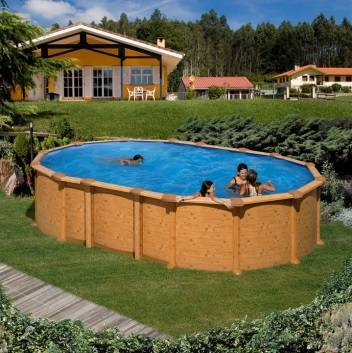 piscine hors sol acier r sine achat vente chez irrijardin. Black Bedroom Furniture Sets. Home Design Ideas