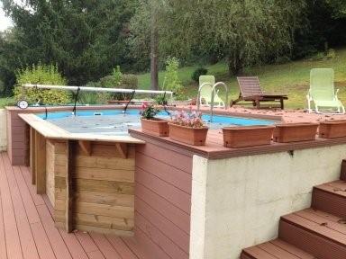 piscine hors sol ovale Lavelanet