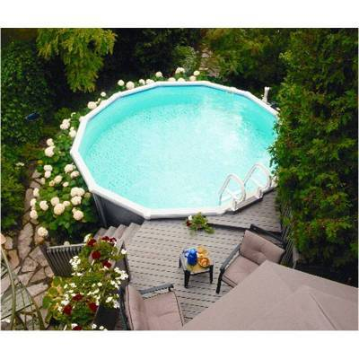 piscine hors sol 3 66m ronde citadine aqua leader achat. Black Bedroom Furniture Sets. Home Design Ideas