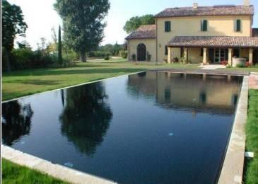 Kit piscine simply 7 pour construire sa piscine soi m me for Piscine bois liner noir